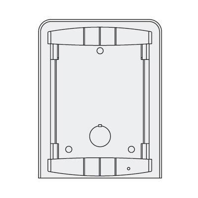 KAC-40P, skříňka pro akumulátor 12V 26 až 45 Ah