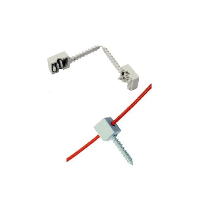 Plastový clip plastová příchytka teplotního kabelu