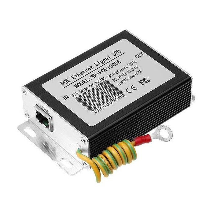 POE1000E přepěťová ochrana LAN, PoE 802.3af/at, 1 Gb