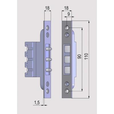STMH-2023R, venkovní PTZ dome HD TVI kamera 2 Mpx, 1080p, f4-92mm, 23x zoom, IR 100m,  D-WDR, MAZi