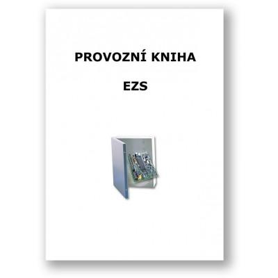 Provozní kniha EZS tištěný formát A4 cca 20 stran