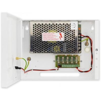PS-BOX-12V5A5x1A kamerový zdroj 12V/5A/5x1A v boxu