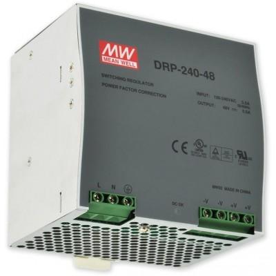 PS-DIN 240-48 spínaný zdroj 48V,/3,5A na DIN, ochrany