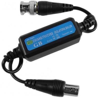 RX-GB106A galvanický oddělovač HDCVI/TVI/AHD/CVBS videosignálu, přepěťová ochr.