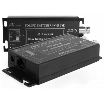 RX-IPVE602-POC IP extender na koax, do 600m PoE/2500m bez PoE, pár