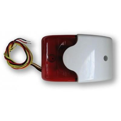 SA 913TF 110dB, bílý plast, blikač + tamper