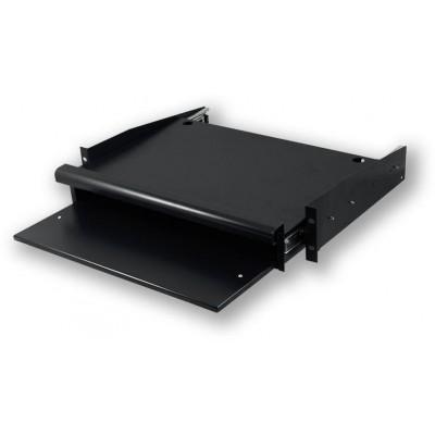 """SH.0350.M02 19"""" polička pro klávesnici a myš, 2U, 350 mm"""