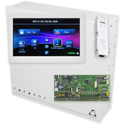 SP6000/R + BOX S-40 + IP150-SWAN + TM70