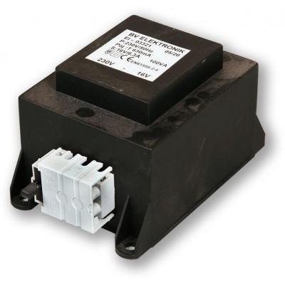 TRAFO PLAST 32V/100VA s pojistkou a svorkovnicí vhodné k PS-07 DUO