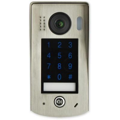 VFC-1-KL venkovní jednotka s fisheye kamerou a dotyk. klávesnicí