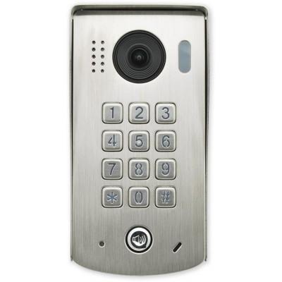 VFC-1-KL-MECH venkovní jednotka s fisheye kamerou a mech. klávesnicí
