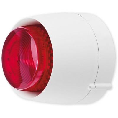 VTB 32 DB W bílá/červená maják se sirénou venkovní