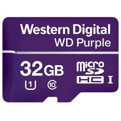 WDD032G1P0A paměťová karta MicroSDHC 32GB, WD Purple