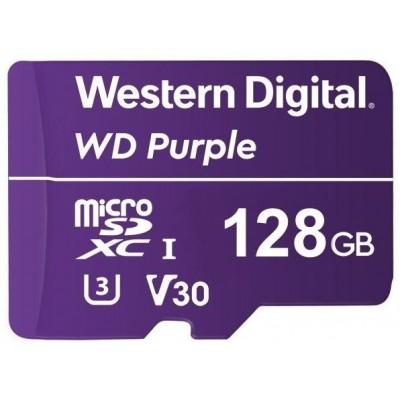 WDD128G1P0A paměťová karta MicroSDXC 128GB, WD Purple