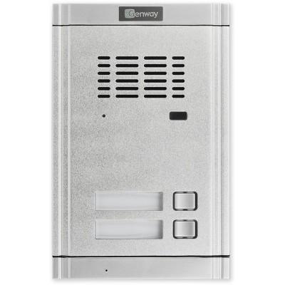 WL-02NE1X2 dveřní audio jednotka 2 tlačítka