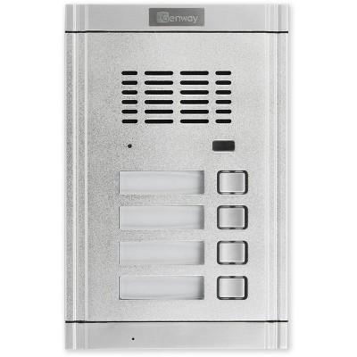 WL-02NE1X4 dveřní audio jednotka 4 tlačítka