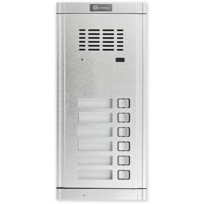 WL-02NE1X6 dveřní audio jednotka 6 tlačítek