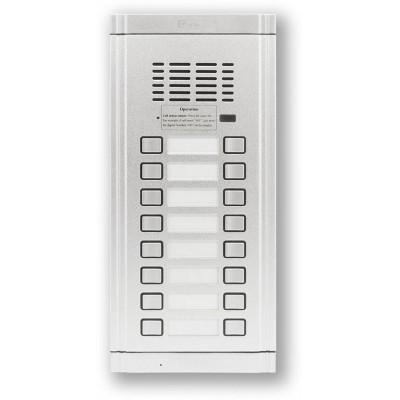 WL-02NE2X8 dveřní audio jednotka 16 tlačítek