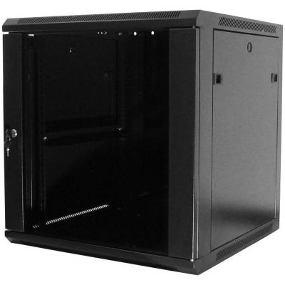 WM.6606.901 nástěnný, složený, 6U, 600x600, sklo