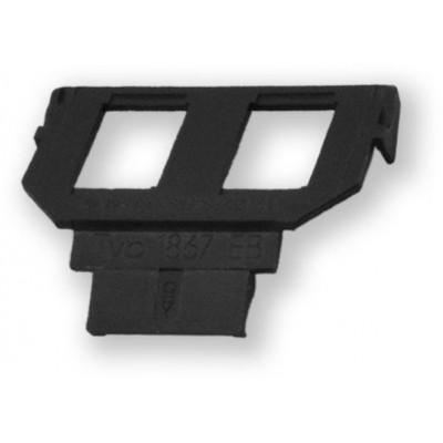WO-058 empty ABB 2P maska pro 2 KJ do krytu WO-050