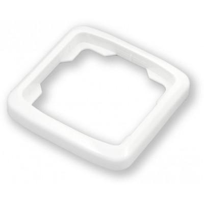 WO-070 rámeček ABB, bílá, Tango