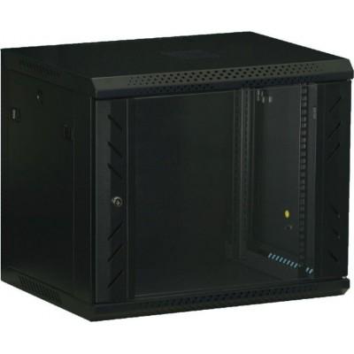 WS.6615.901 nástěnný, rozložený, 15U, 600 x 600, sklo