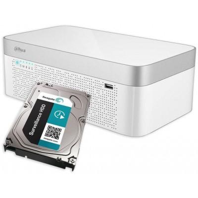 XVR7104E-4KL-B-X + 1TB HDD 4CH, ALL hybrid, 4K, 1xHDD, 265+, IoT, AKU, řízený ventilátor
