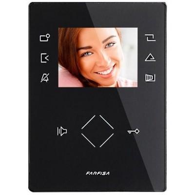 """ZH1262B videotelefon Zhero (černý), obraz. 3,5"""""""