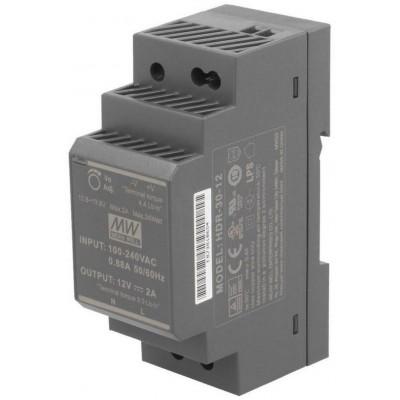HDR-30-12 zdroj na DIN, 12Vdc, 2A , 24W
