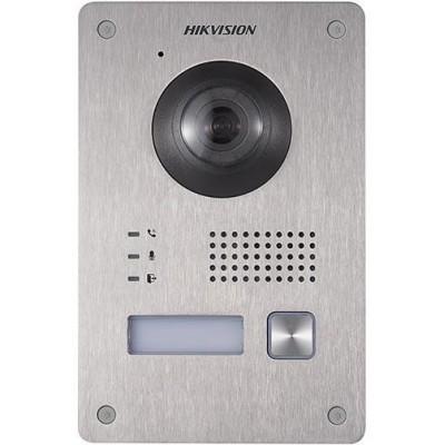DS-KV8103-IME2(Europe BV) Dveřní IP stanice, 1 tlač., 2 Mpx, RFID, 2-vodičový systém