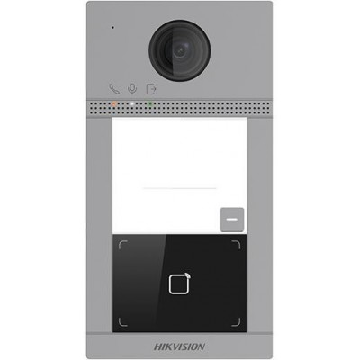 DS-KV8113-WME1/Flush Dveřní IP stanice, 1 tlačítko, 2 Mpx, RFID, 2.generace