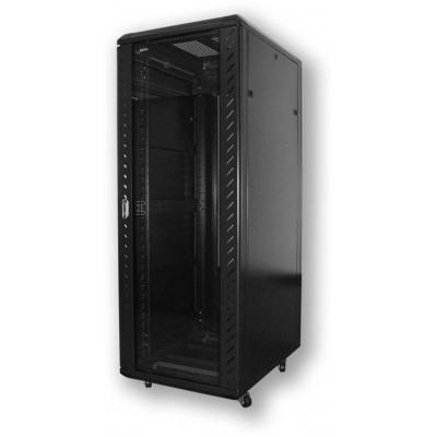EB.8847.901 serverový, 47U, 800 x 800, sklo/perforace