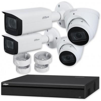 INVR-04ALPOE, síťový rekordér NVR pro 4 IP kamery (25/80 Mbps), až 5Mpx, 4x PoE, 1x SATA, HDMI, MAZi