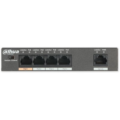 PFS3005-4ET-60 switch 5/4, 4x PoE/1x LAN, 3af, 3at, 60W