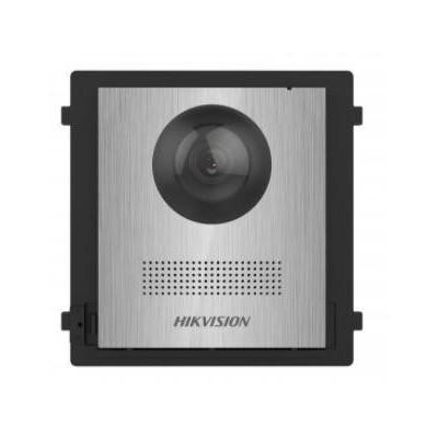 DS-KD8003-IME1/NS řídící modul s kamerou bez tlačítka, IP LAN verze, nerez, 2. generace