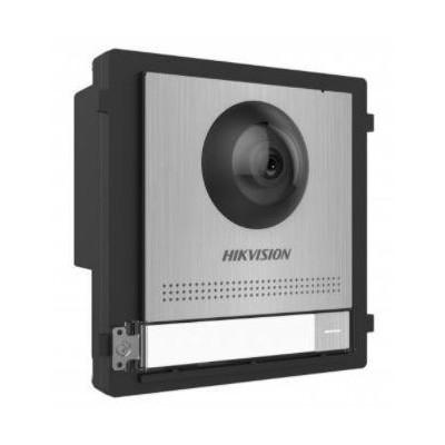 DS-KD8003-IME1/S řídící modul s kamerou a 1 tlačítkem, IP LAN verze, nerez, 2. generace