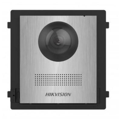 DS-KD8003-IME2/NS řídící modul s kamerou bez tlačítka, 2-vodič, nerez, 2.generace