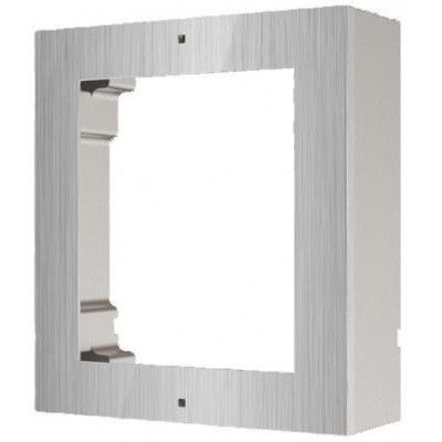 DS-KD-ACW1/S povrchový instalační rámeček pro 1 modul, nerez, 2. generace