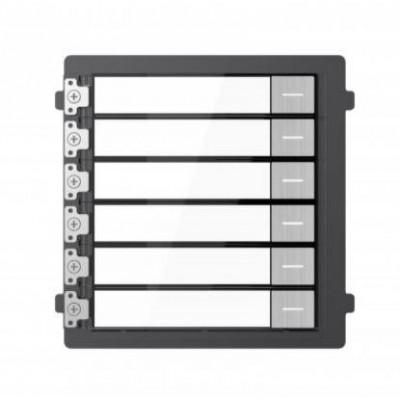 DS-KD-KK/S modul se šesti zvonkovými tlačítky, nerez, 2. generace