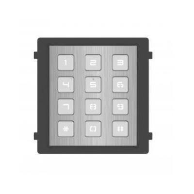 DS-KD-KP/S modul s číselnou klávesnicí, nerez, 2. generace