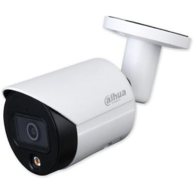 IPC-HFW2239S-SA-LED-S2 - 2,8 mm 2Mpix Starlight full color, bílé LED 30 m, WDR, IVS, MIC