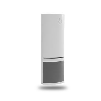 MINI-15 hnědý, miniaturní závrtný 2-vodičový magnetický kontakt, zápustná montáž, hnědá barva