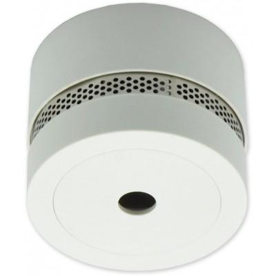 SDA-20-S - světle šedá autonomní opticko-kouřový se sirénou
