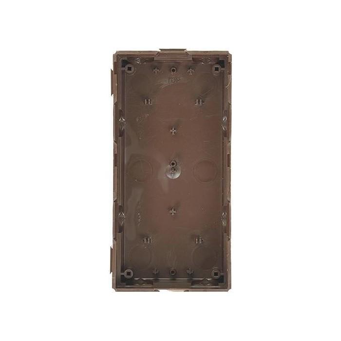 4FA 249 56 zápustná krabice pro 2 moduly KARAT, měděná