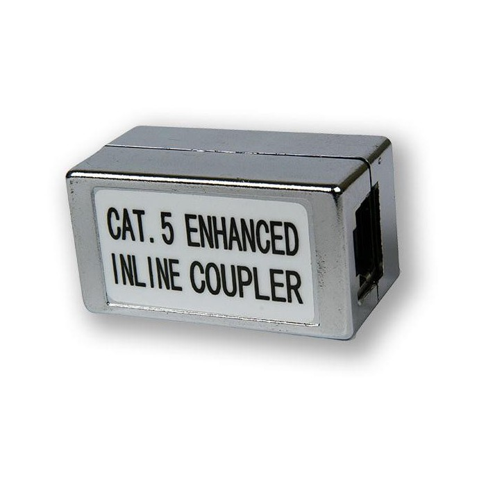 AC-130 IC C5E/S spojka Inline Coupler CAT5E/stíněná