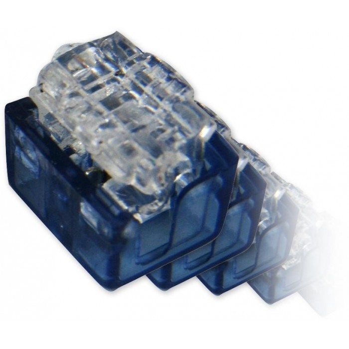 AC-2+1-balení 100ks zařezávací spojka pro 2+1 drát