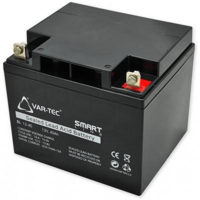AKKU SMART 12V/40Ah rozměr: DxŠxV , 197x165x170 mm