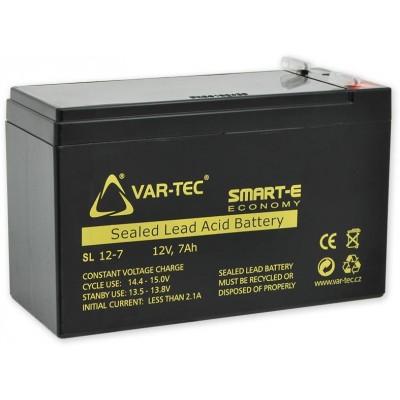 AKKU SMART-E 12V/7Ah economy, rozměr: DxŠxV , 151x65x102 mm