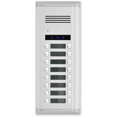 AV16 venkovní audio jednotka s 16 tl.