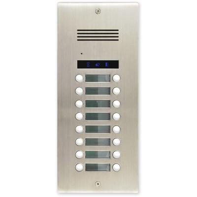 AV16-ZAP zápustná venkovní audio jednotka s 16 tl.